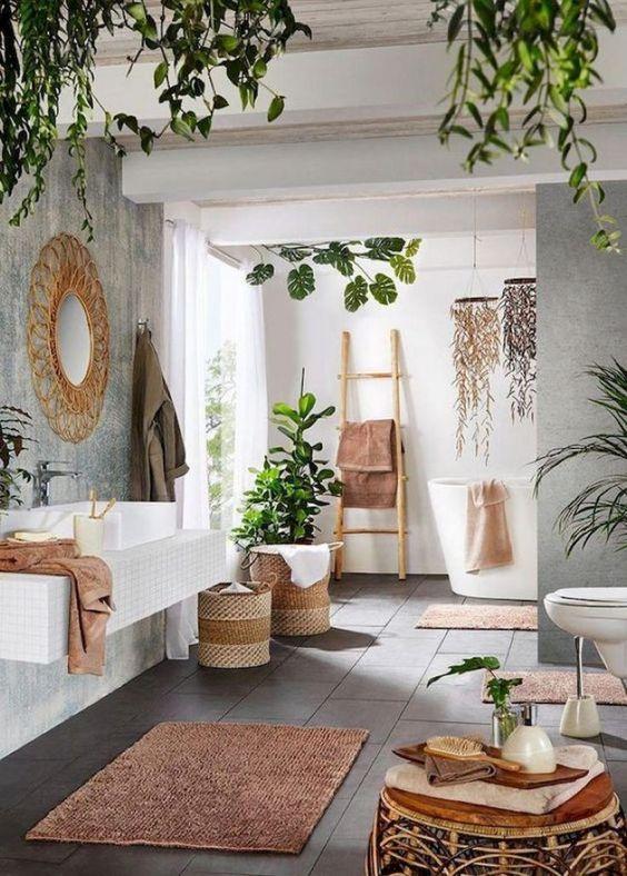 Minimalist Bathroom Ideas With Tropical Style