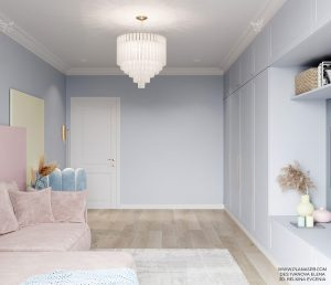 Sweet and Minimalist Pastel Interior Décor Ideas